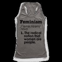 Feminism Definition Racerback