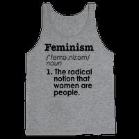 Feminism Definition Tank