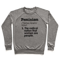 Feminism Definition Sweatshirt