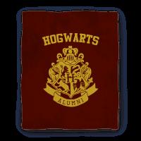 Hogwarts Alumni Crest Gryffindor Blanket Blanket