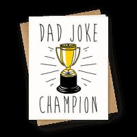 Dad Joke Champion