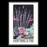 Ten Of Swords (Everything Is Fine) Poster