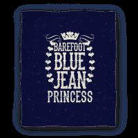 Barefoot Blue Jean Princess Blanket