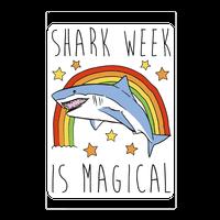 Shark Week Is Magical Wall-decal