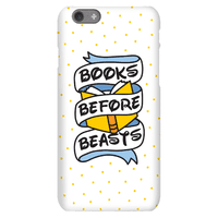 Books Before Beasts Phonecase