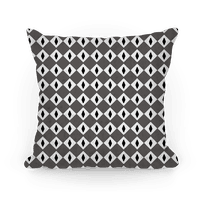 Black and White Diamond Eyes Pattern