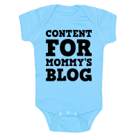 Content For Mommys Blog Baby