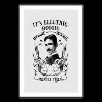 It's Electric Nikola Tesla Poster
