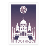 The Moon Kingdom Poster