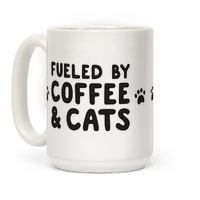 Fueled By Coffee And Cats Mug