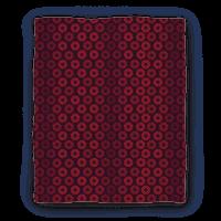 Vintage Flower Pattern Blanket (Red) Blanket
