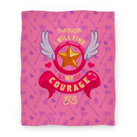 Cardcaptor Sakura: I Will Find My Courage Blanket Blanket