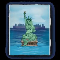 Statue of Liberty Mermaid Blanket