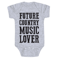Future Country Music Lover Baby
