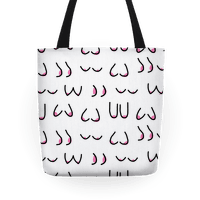 Doodle Boobs Tote