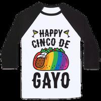 Happy Cinco De Gayo Baseball