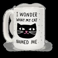 I Wonder What My Cat Named Me