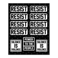 Resist - Silence Is Violence Sticker