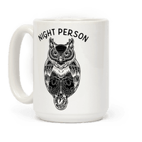 Night Person Owl Mug