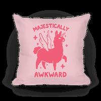 Majestically Awkward Llamicorn Pillow