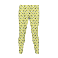 Lemon and Bee Legging