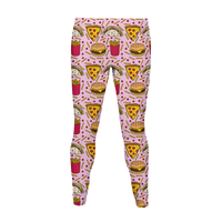 Junk Food Pattern Legging
