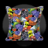 Hylian Shrooms and Veggies Pillow