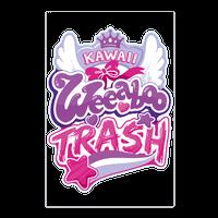 Kawaii Weeaboo Trash Anime Logo