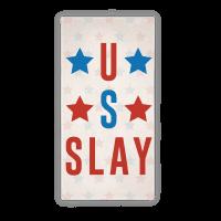 U S Slay Beach Towel