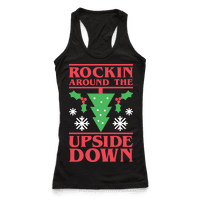Rockin Around The Upside Down Racerback
