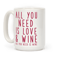 All You Need Is Love & Wine Mug