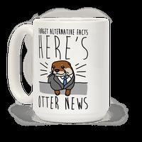 Otter News Mug