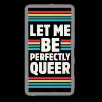 Let Me Be Perfectly Queer Beach Towel Towel
