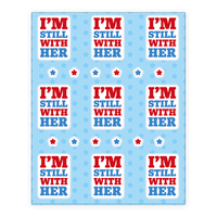 I'm Still With Her Sticker Sheet Sticker