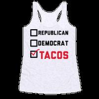 Republican Democrat Tacos
