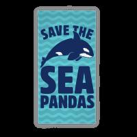 Save The Sea Pandas Towel