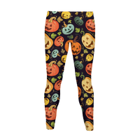 Autumn Pumpkin Pattern Legging