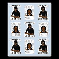 Michelle Obama Sticker Sheet Sticker