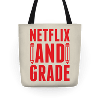 Netflix And Grade Tote
