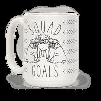 Squad Goals Pugs Mug