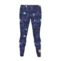 90s Cosmic Pattern Legging