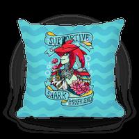 Prince Sidon: Supportive Shark Boyfriend Pillow