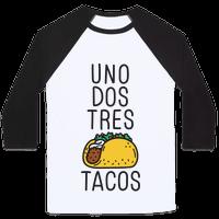 Uno Dos Tres Tacos Baseball