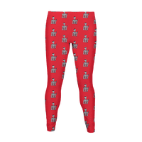 Christmas Skeleton Pattern Legging
