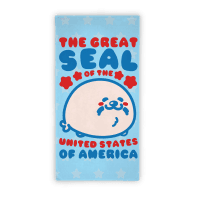 The Great Seal of The United States Beach Towel Towel