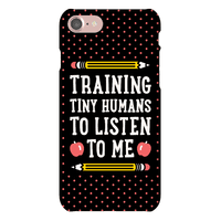 Training Tiny Humans To Listen To Me Phonecase