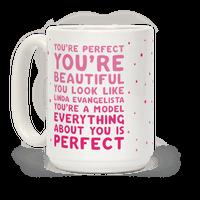 You're Beautiful You Look Like Linda Evangelista