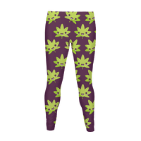 Kawaii Pot Leaf Legging