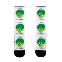 Edgy Veggie Sock